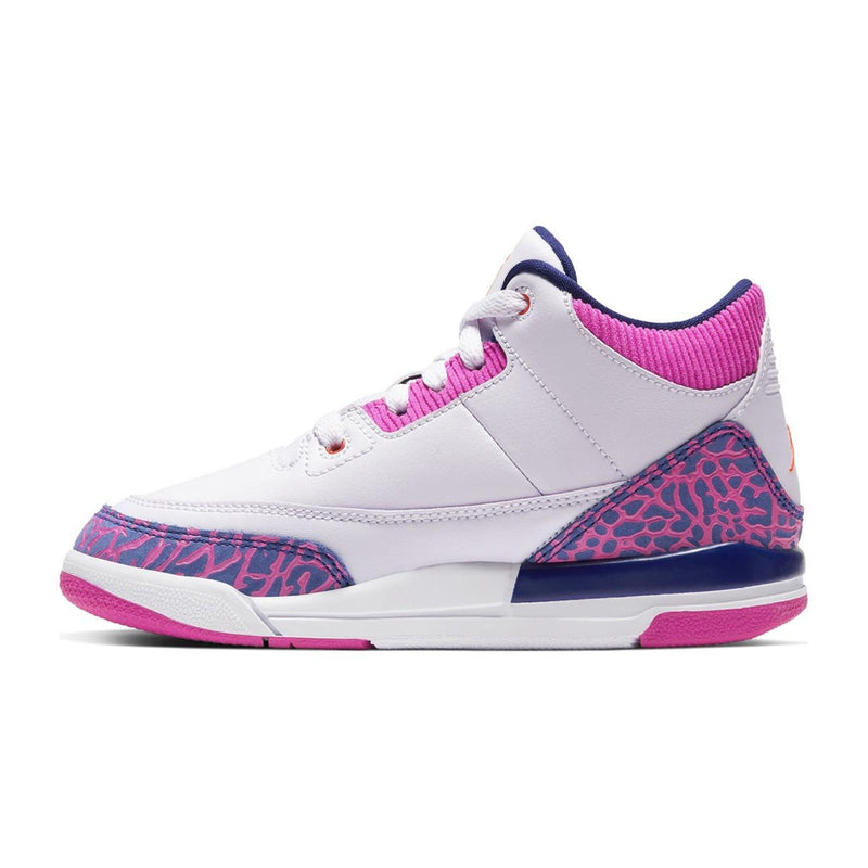 Girls' Jordan 3 Retro (PS) Pre-School Shoe