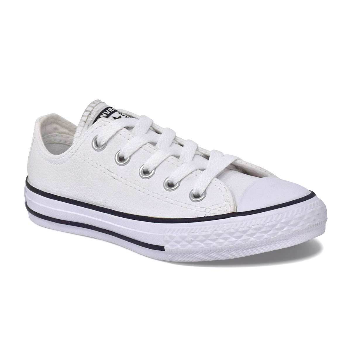 Little Kids Chuck Taylor White Leather