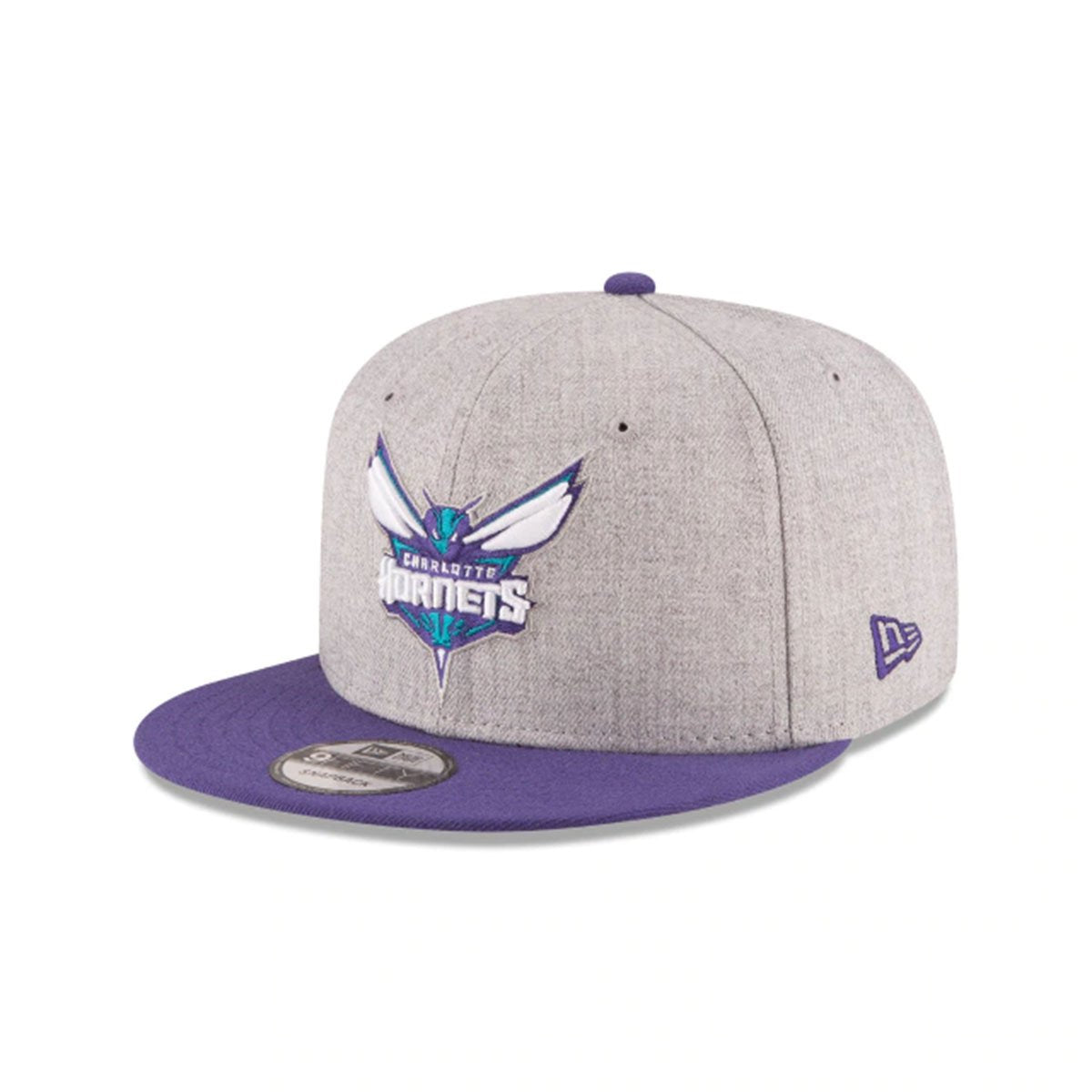 CHARLOTTE HORNETS 2TONE HGROTC_HEATHER/PURPLE