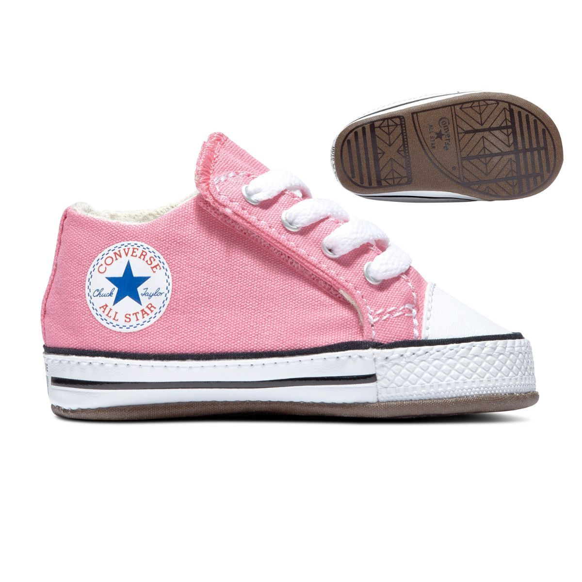 Infant Chuck Taylor All Star Pink Cribster