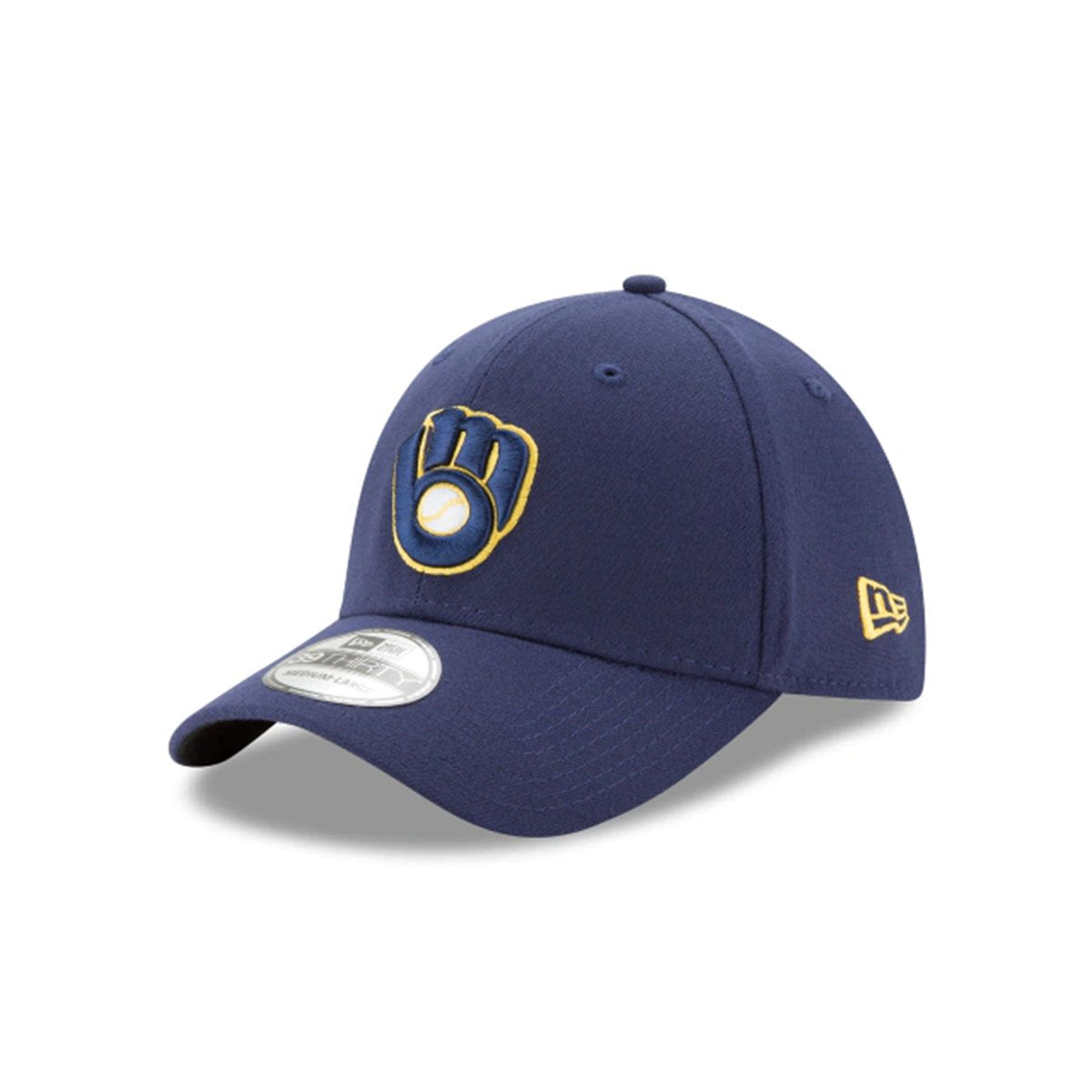 MILWAUKEE BREWERS 39THIRTY STRETCH FIT BLUE/YELLOW