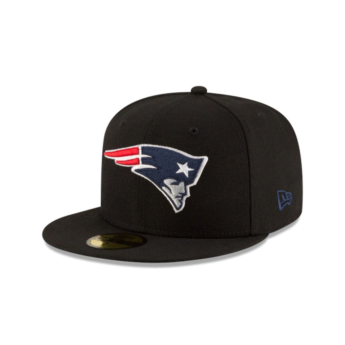 NEW ENGLAND PATRIOTS 59FIFTY FITTED BLACK/BLUE