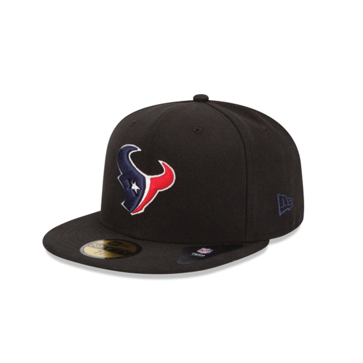 HOUSTON TEXANS 59FIFTY FITTED BLACK/NAVY