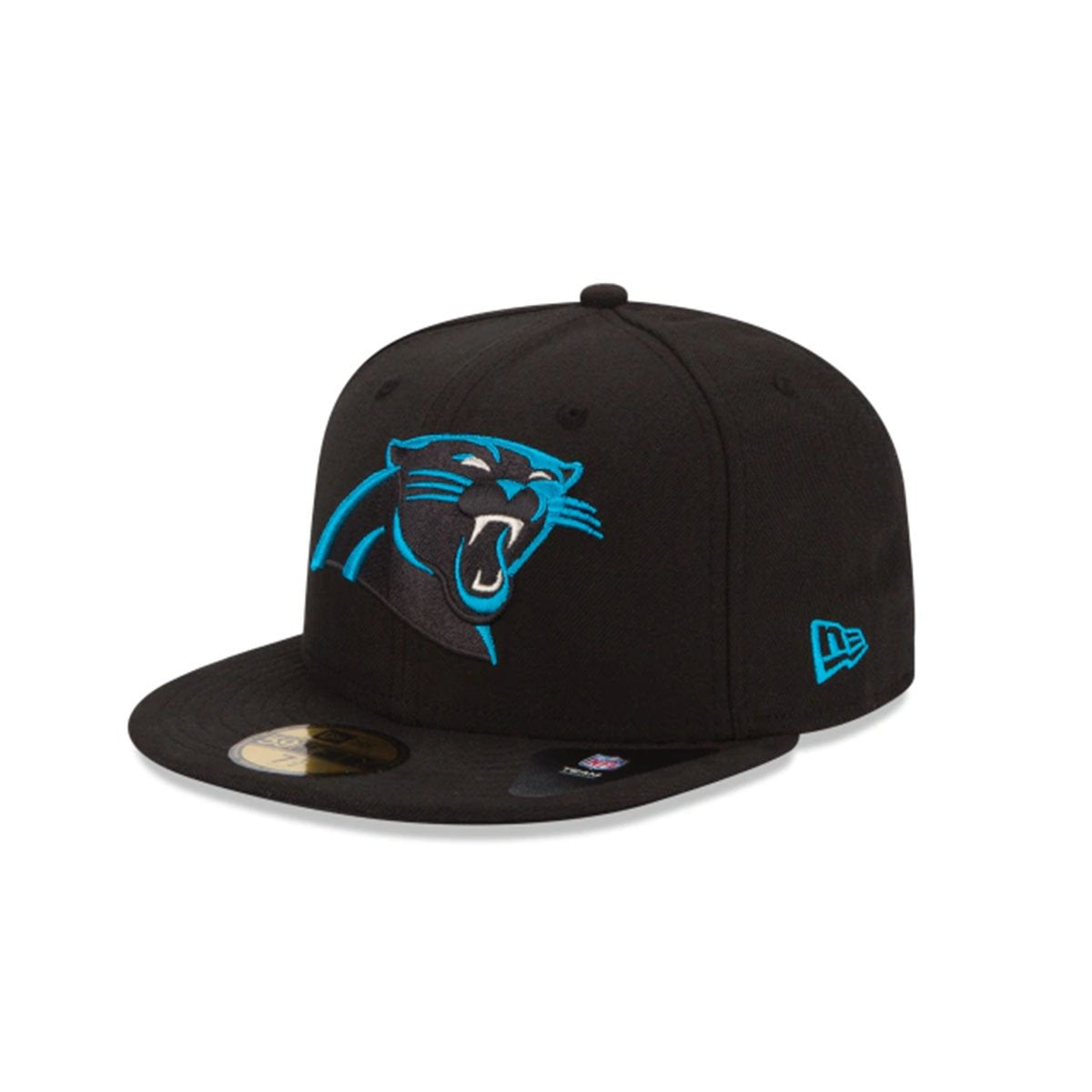 CAROLINA PANTHERS 59FIFTY FITTED BLACK/BLUE
