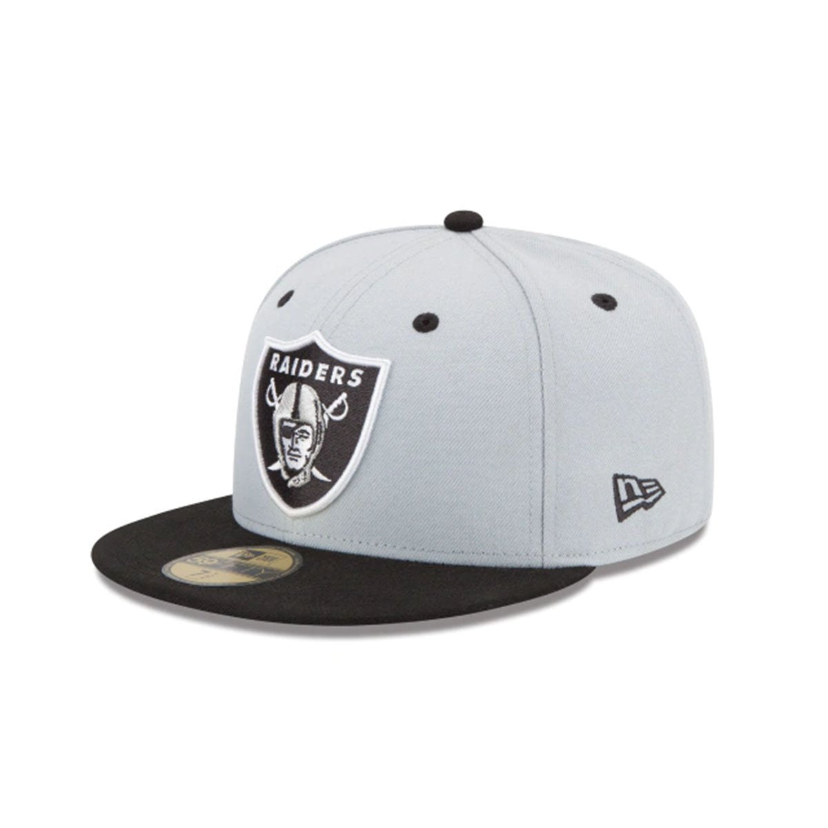 LAS VEGAS RAIDERS 2TONE 59FIFTY FITTED GRAY/BLACK
