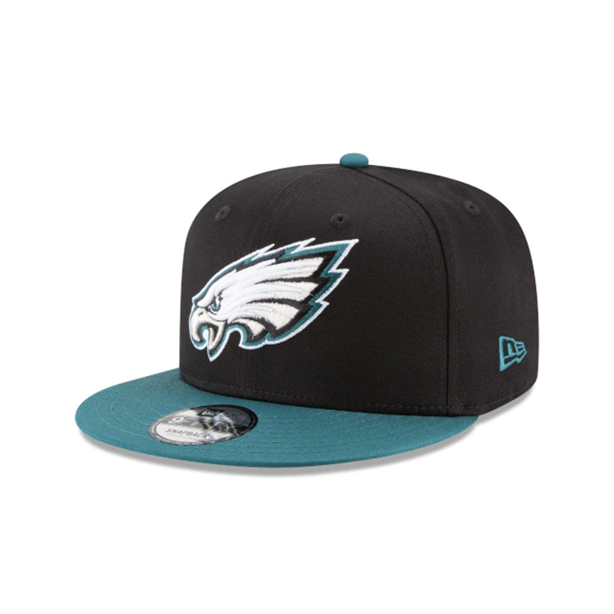 PHILADELPHIA EAGLES 9FIFTY SNAPBACK BLACK/GREEN