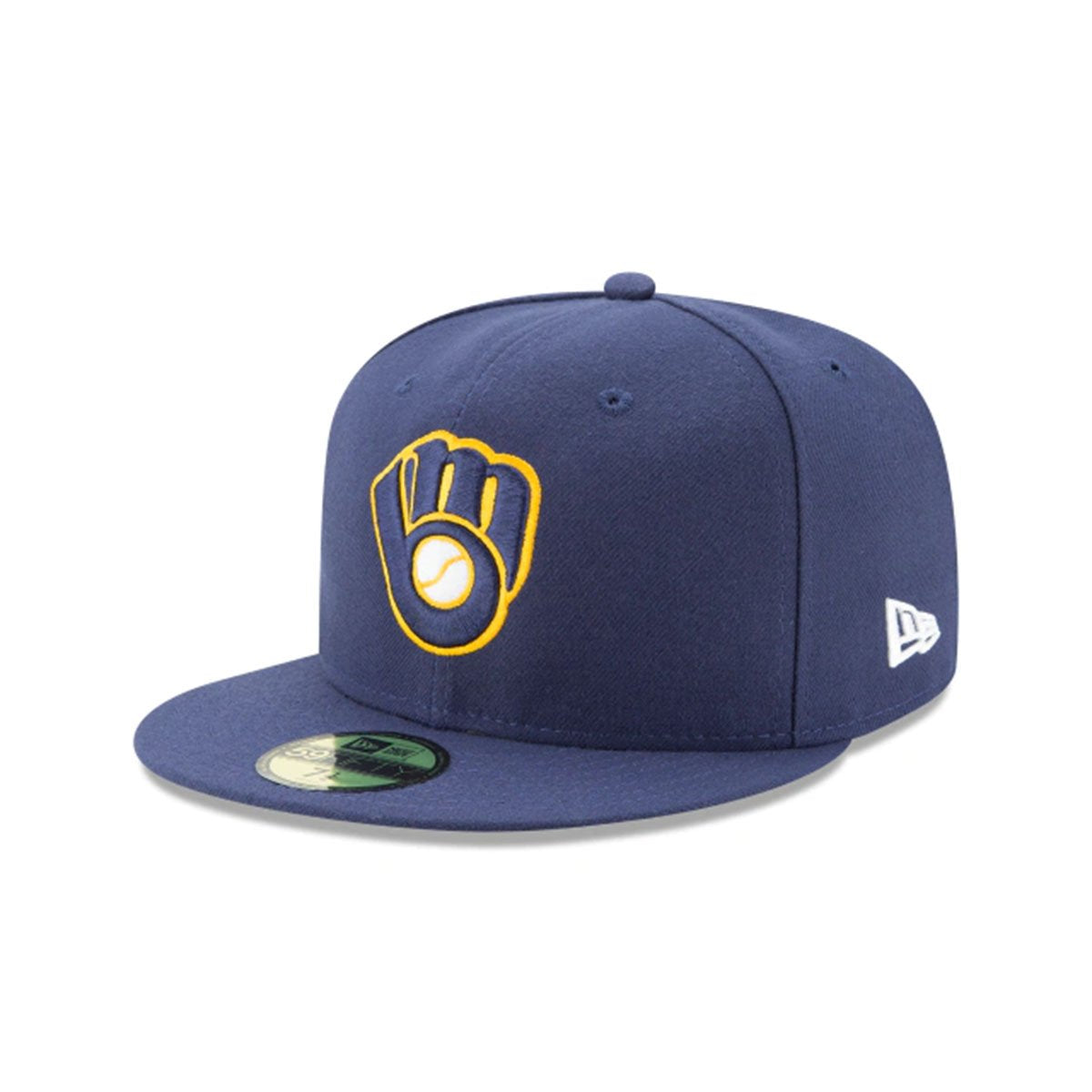 MILWAUKEE BREWERS 59FIFTY FITTED BLUE/YELLOW