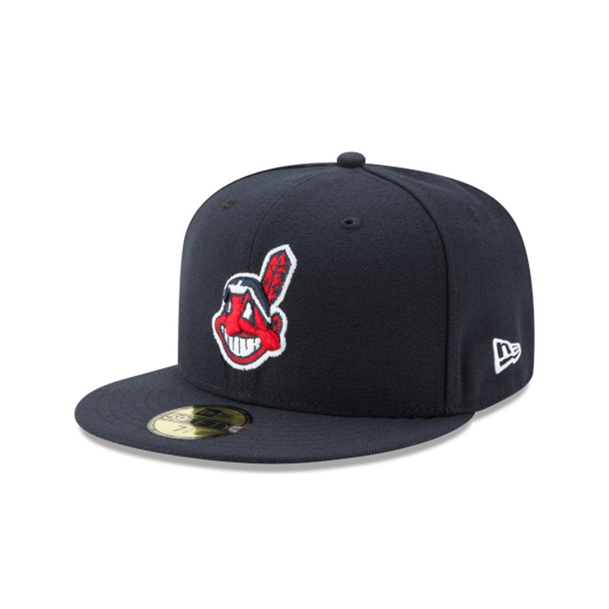 CLEVELAND INDIANS 59FIFTY FITTED BLACK/RED