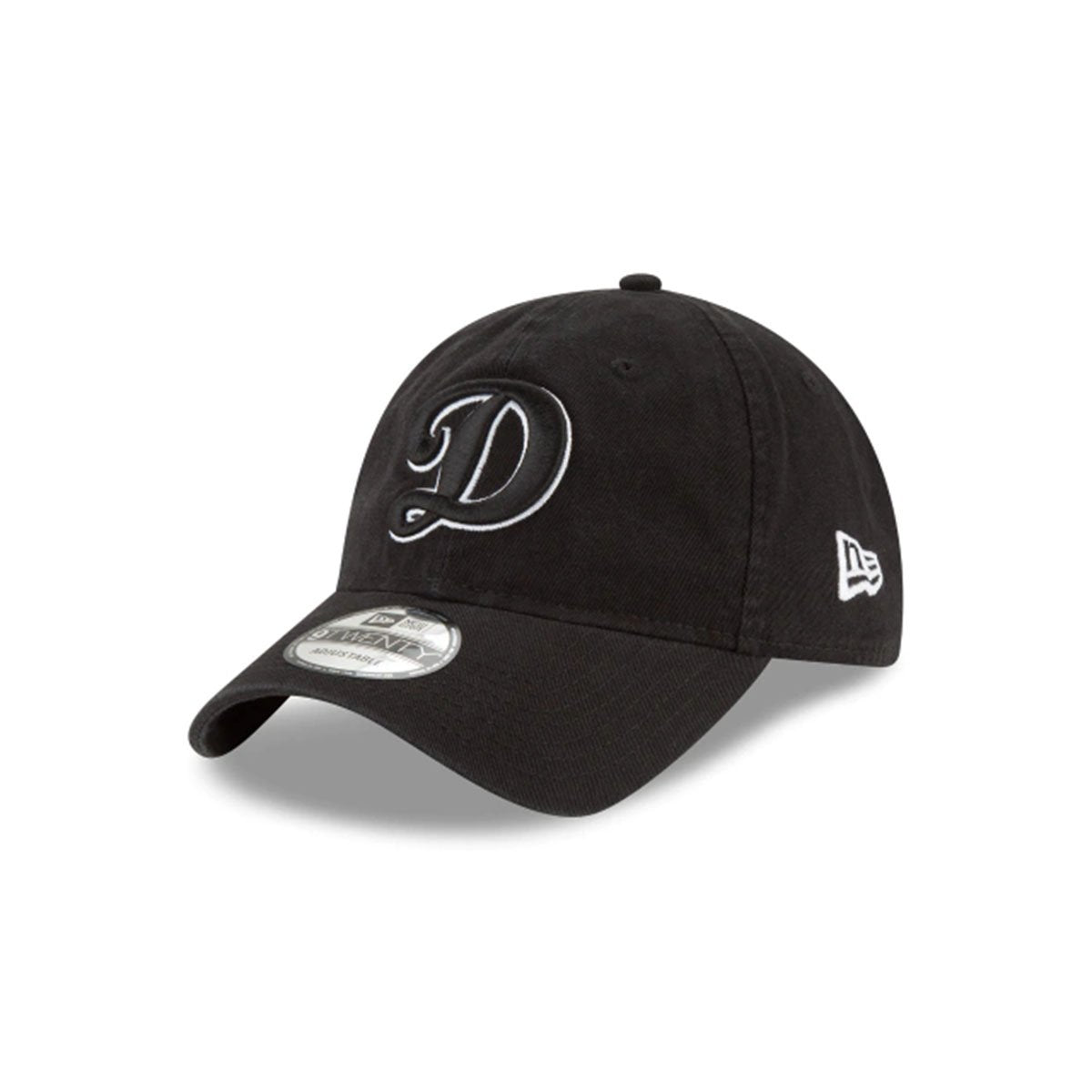 LOS ANGELES DODGERS 9TWENTY ADJUSTABLE BLACK/WHITE