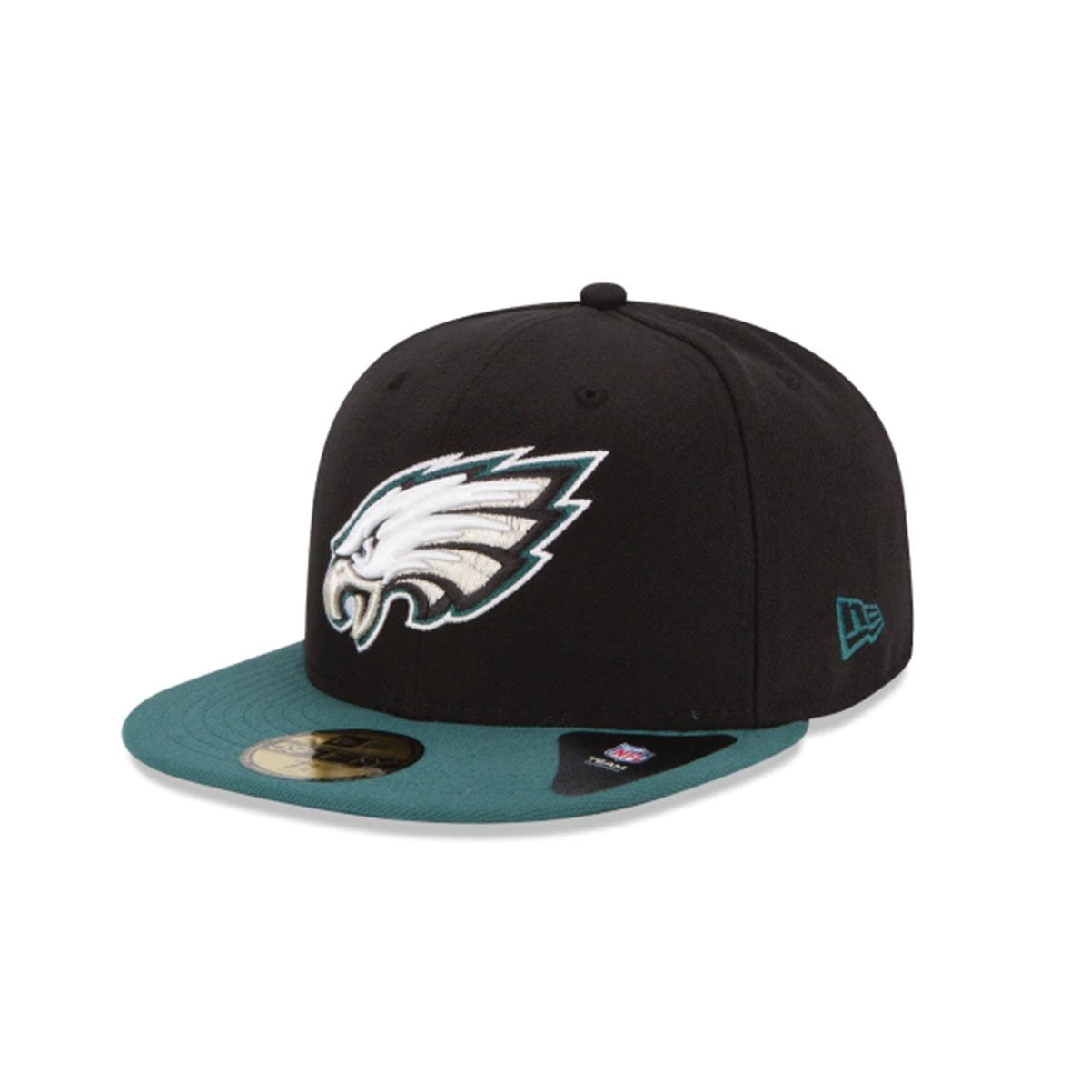 PHILADELPHIA EAGLES 59FIFTY FITTED BLACK/GREEN