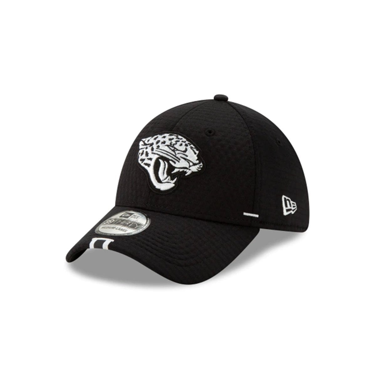 JACKSONVILLE JAGUARS 39THIRTY STRETCH FIT BLACK/WHITE