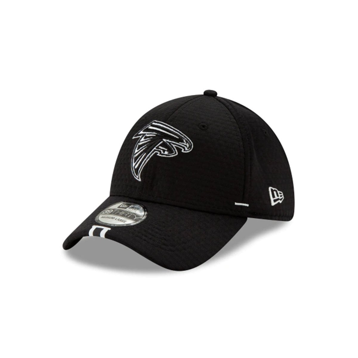 ATLANTA FALCONS 39THIRTY STRETCH FIT BLACK/WHITE