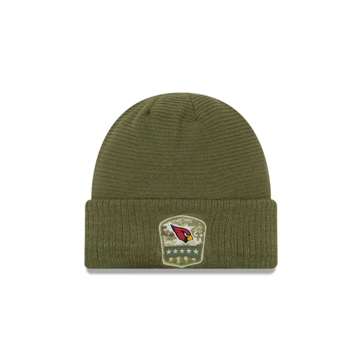 ARIZONA CARDINALS SALUTE TO SERVICE CUFF KNIT GREEN/RED