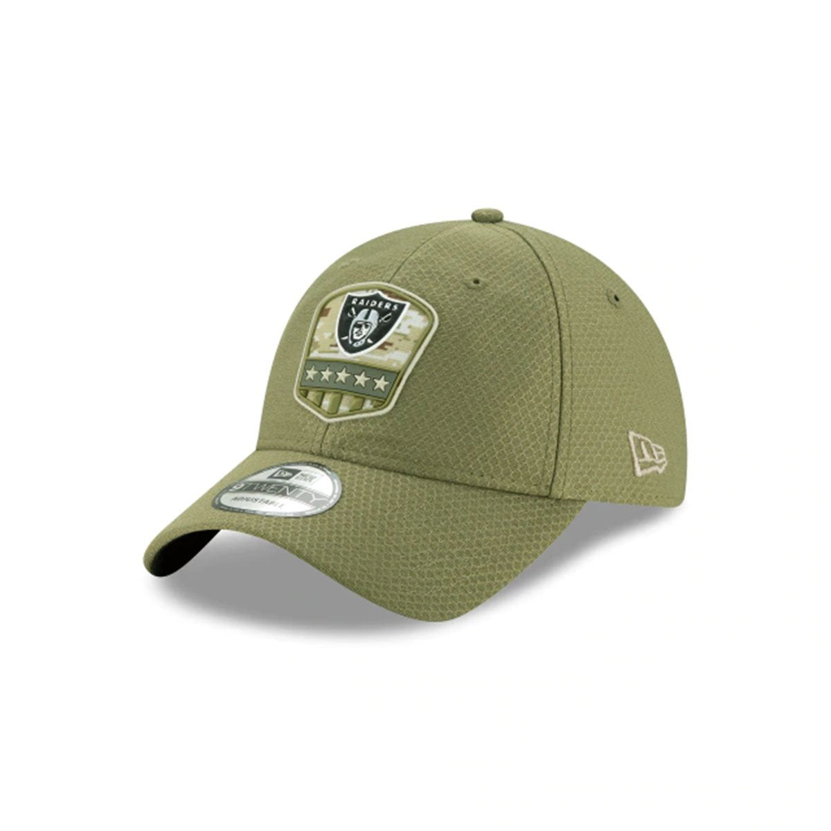 OAKLAND RAIDERS SALUTE TO SERVICE 9TWENTY ADJUSTABLE GREEN/BLACK