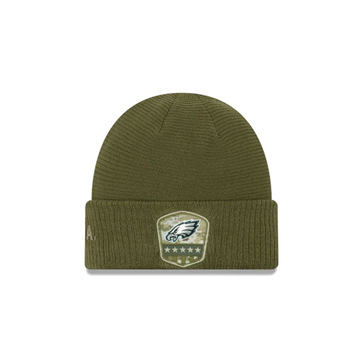 PHILADELPHIA EAGLES SALUTE TO SERVICE CUFF KNIT GREEN/WHITE