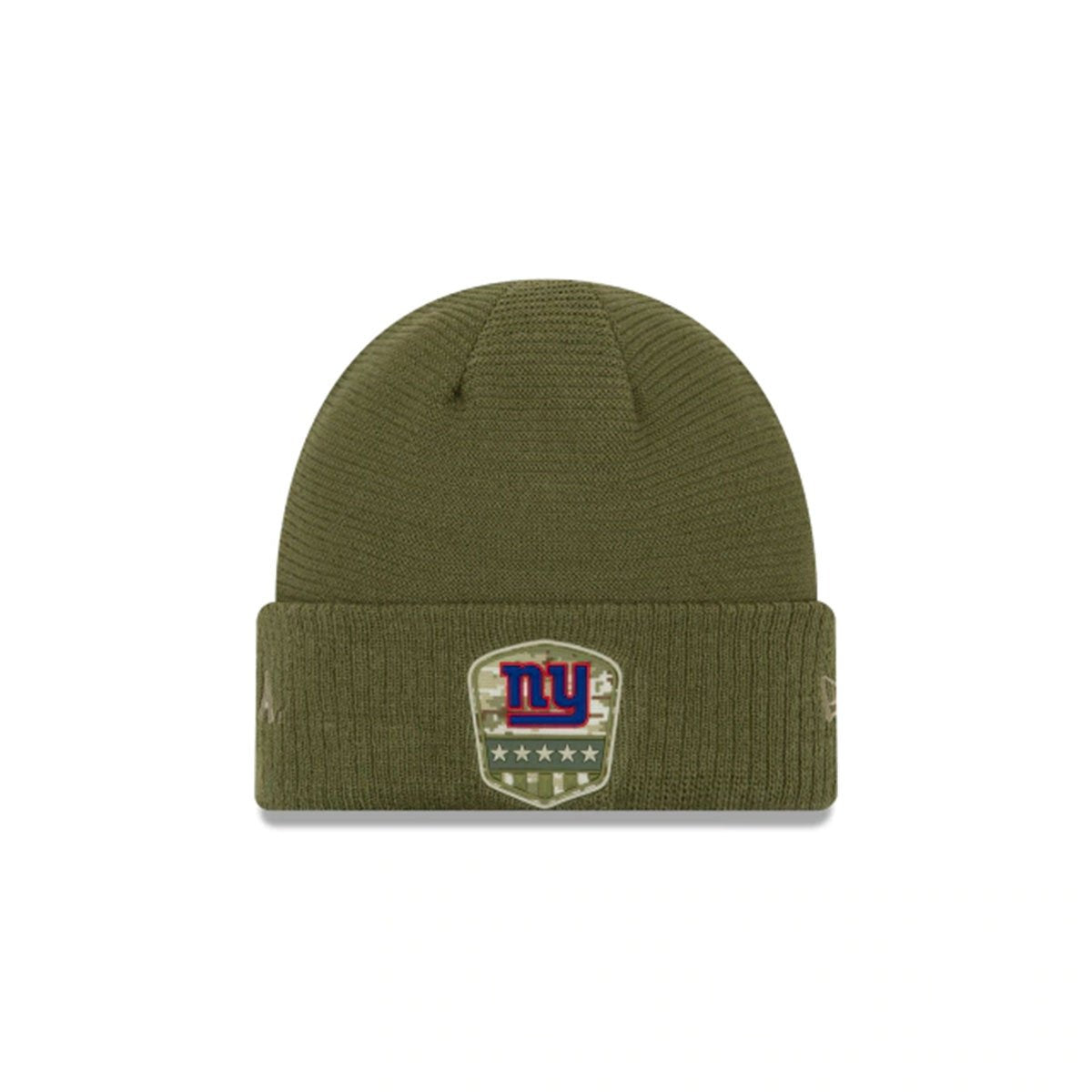 NEW YORK GIANTS SALUTE TO SERVICE CUFF KNIT GREEN/BLUE