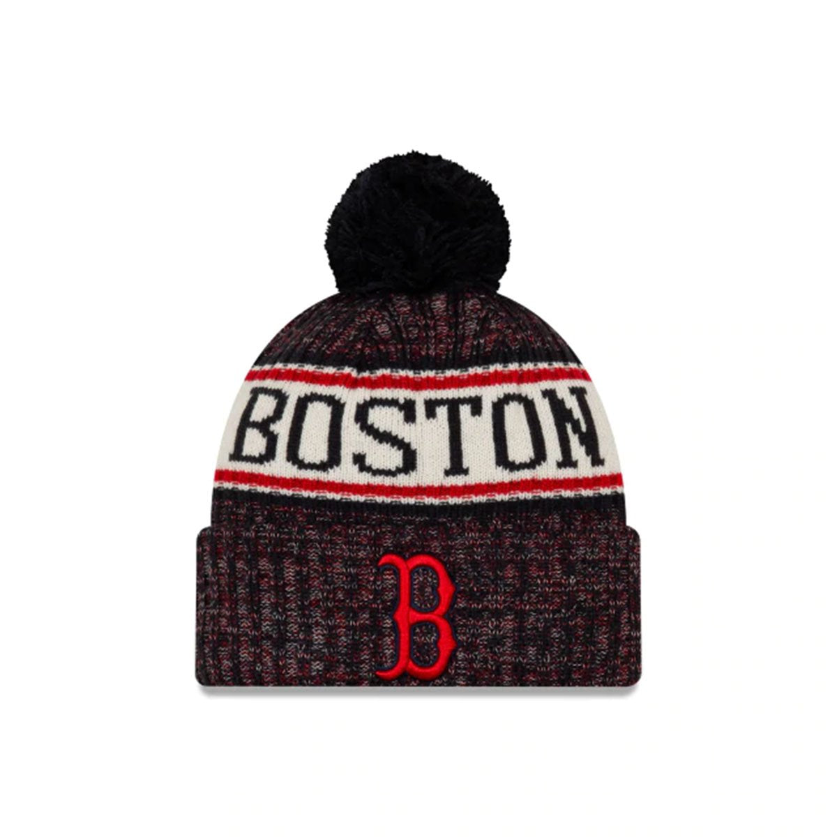 BOSTON RED SOX BEANIE RED/WHITE