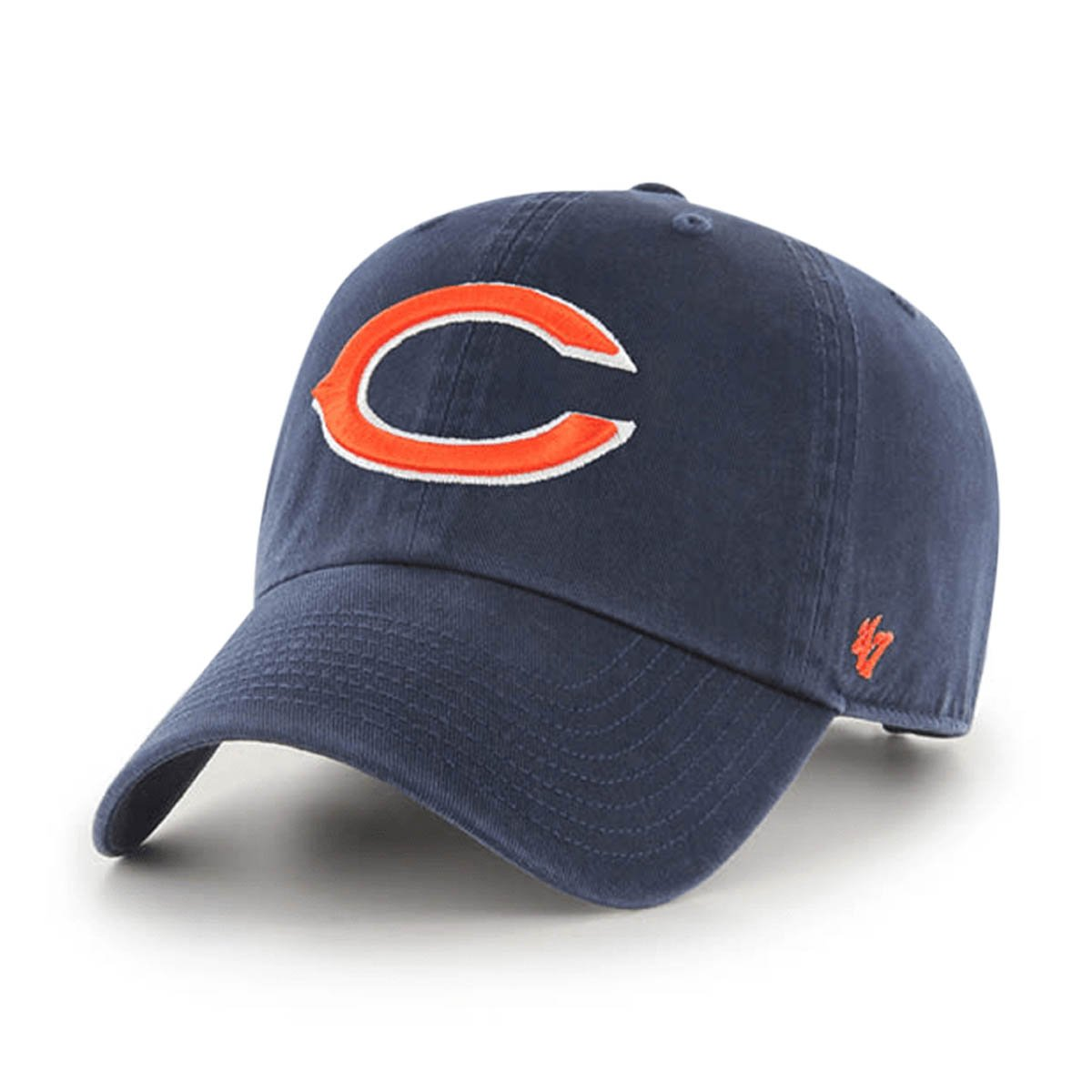 Chicago Bears Navy 47 Clean Up - OSFA