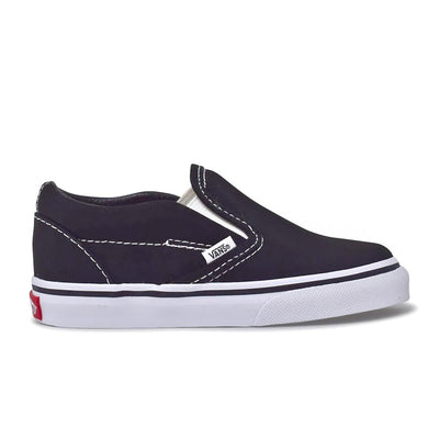 Toddler Classic Slip-On Black/White