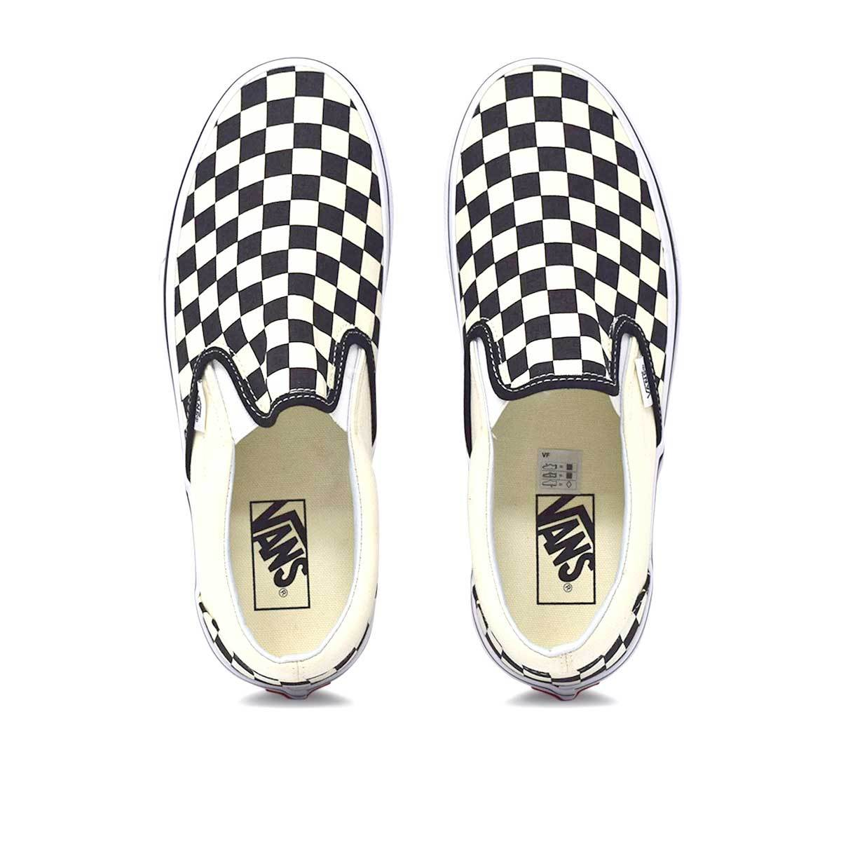 Classic Slip-On Black/White Checkerboard