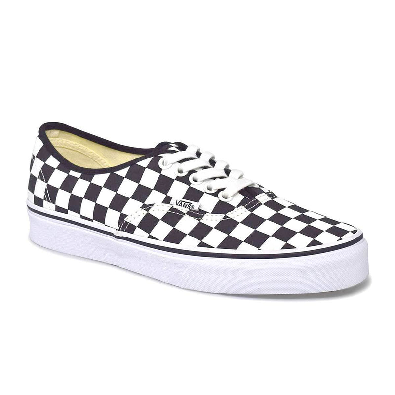 Authentic Black/White Checkerboard