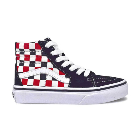 Big Kids Sk8-Hi Black/Racing Red