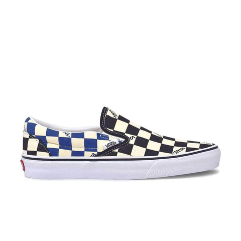Big Check Slip-On Black/Navy