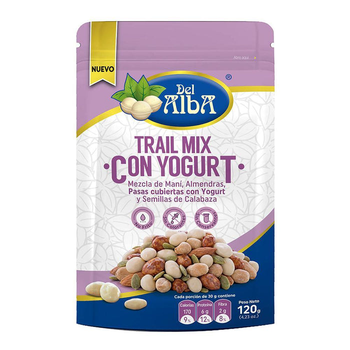 Trail Mix con Yogurt 120g - Del Alba