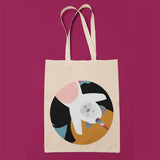 full color custom tote bag