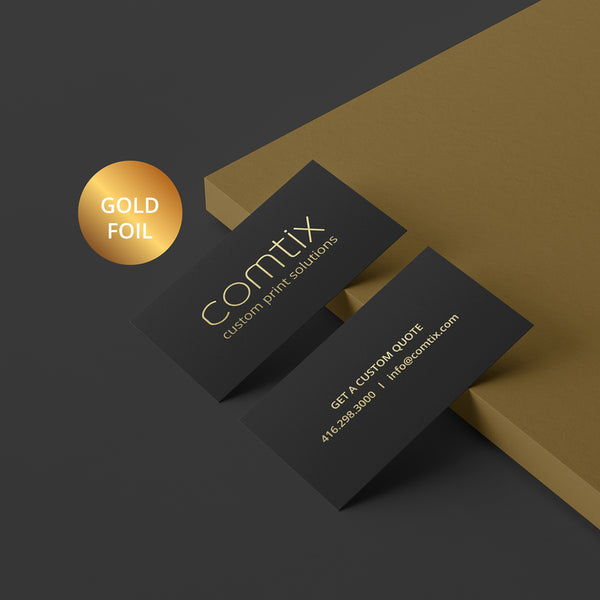 PREMIUM FOIL Business Cards