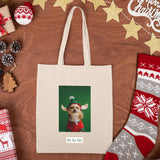 custom holiday tote bag