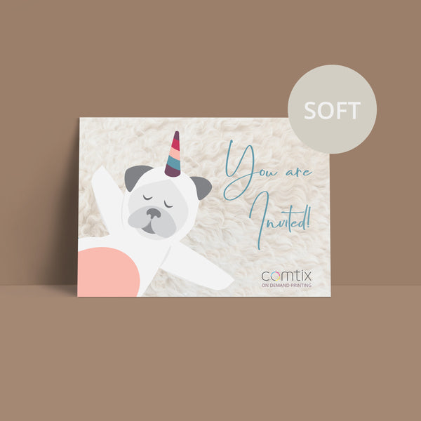 Postcards PREMIUM - Soft Touch