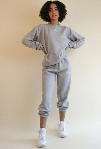 Basic Jogging Pants Light grey
