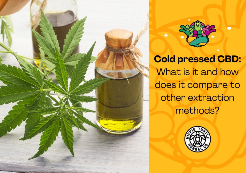 Cold pressed CBD: What is it and how does it compare to other extraction methods?