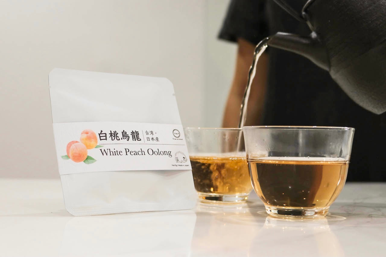 White Peach Oolong Tea Bag (2pcs)