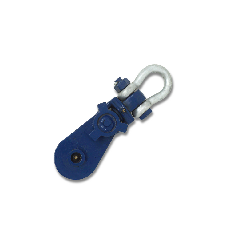 Block Ox Blue Ansel Style With Swivel Hook