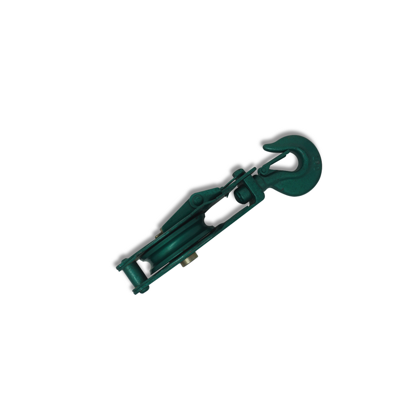 Block Ox Snatch Single Swivel Hook