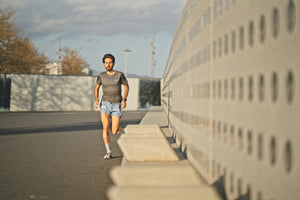 Ultralight Performance Running Tee - Grey