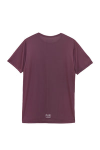 Ultralight Performance Running Tee - Burgundy