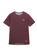 Load image into Gallery viewer, Ultralight Performance Running Tee - Burgundy