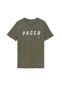 Organic Cotton Pacer Tee - Khaki Green