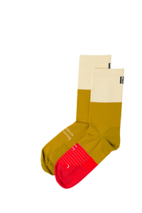 High Cut Socks - Mustard