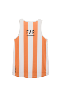 Ultralight Performance Singlet - Orange and White