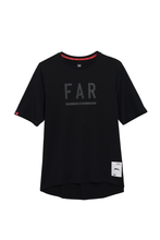 Load image into Gallery viewer, FAR Logo Street Cotton Tee  - Black