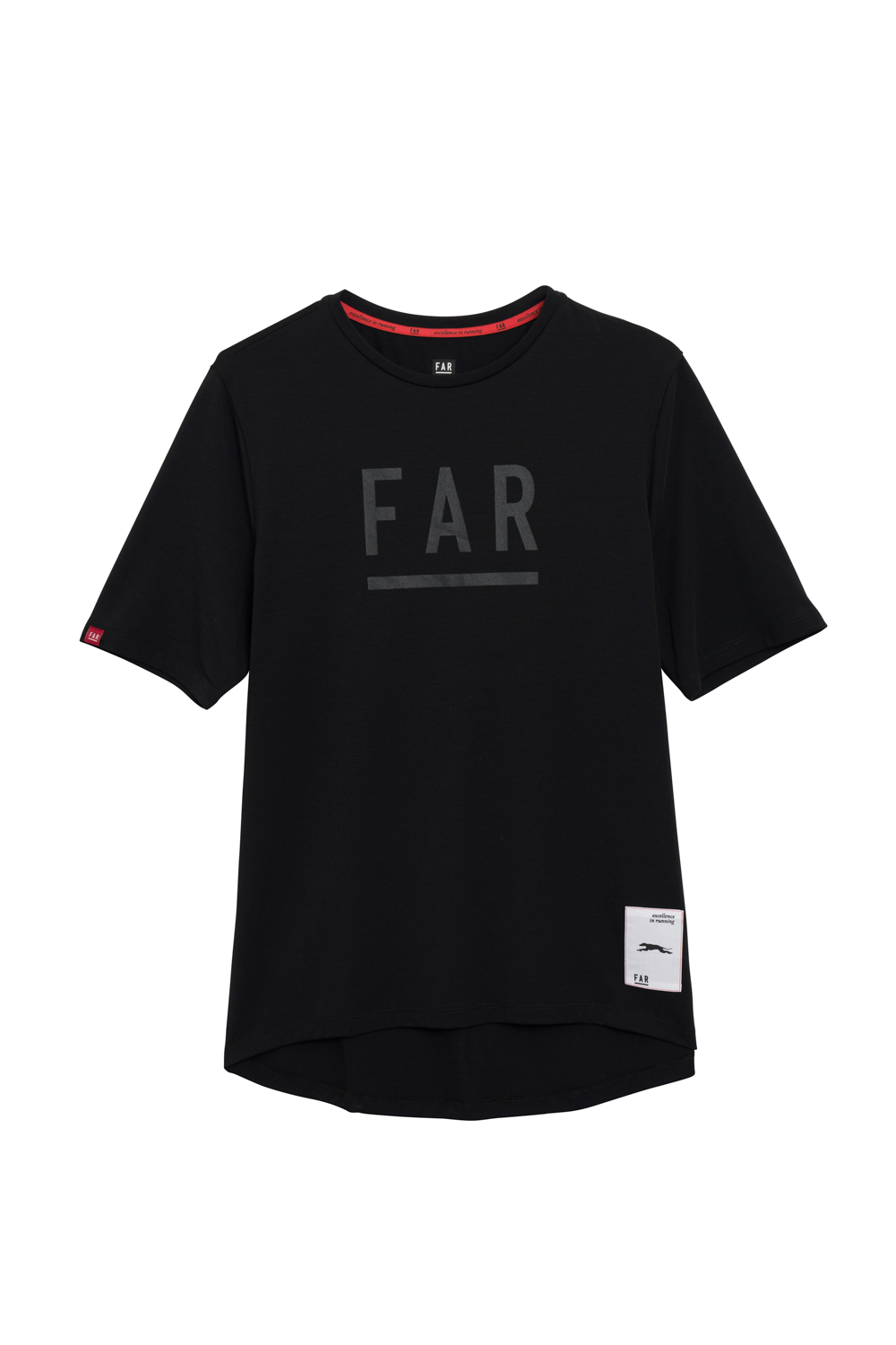 FAR Logo Street Cotton Tee  - Black