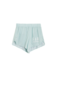 Performance Running Short - Soft Blue