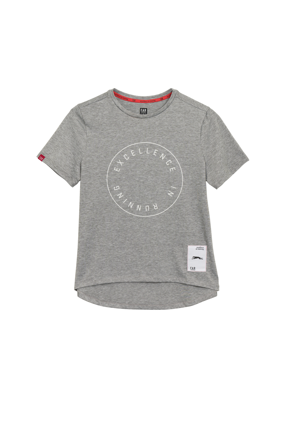 Excellence in Running Street Cotton Tee - Grey
