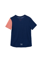 Load image into Gallery viewer, Classic Ultralight Merino Running Tee - Blue