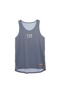 Ultralight Performance Singlet - Grey Blue