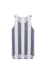 Load image into Gallery viewer, Ultralight Performance Singlet - Grey Blue and White